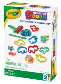 Crayola: Dough Activity Set - Cut & Create Animals