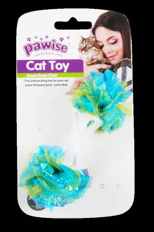 Pawise: Cat Dumbbell Flower