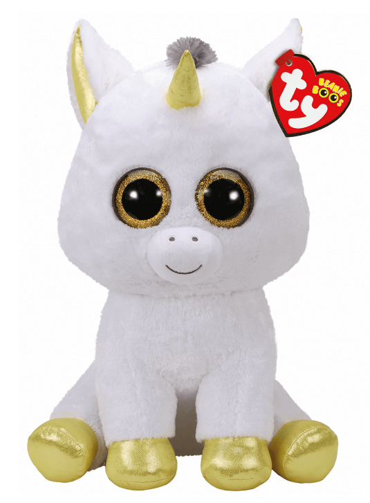 Ty Beanie Boo: Pegasus Unicorn - Large Plush