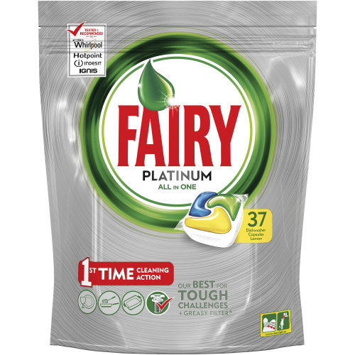 Fairy: Platinum Dishwasher Tablets (Lemon)