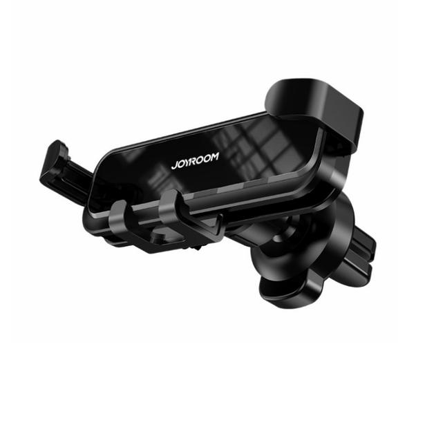 Mini Metal Gravity Universal Car Phone Holder - Air Outlet Bracket (Black)