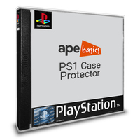 Ape Basics: PS1 (PAL) Case Protector - 10-Pack