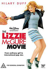 The Lizzie McGuire Movie on DVD