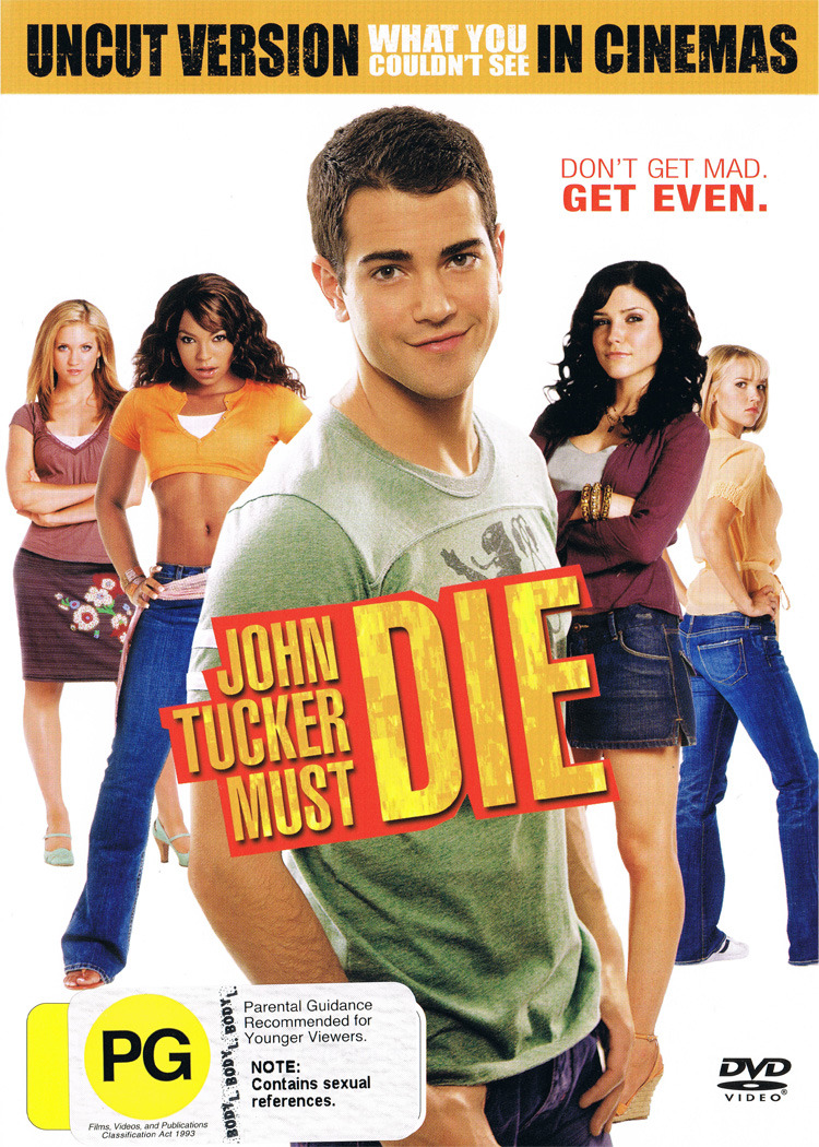 John Tucker Must Die DVD image