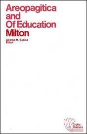 Areopagitica and Of Education by John Milton image