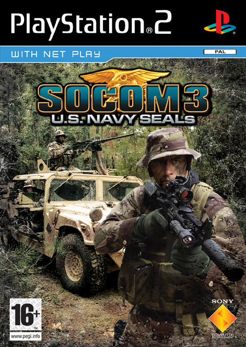 SOCOM 3: U.S. Navy Seals with Headset for PlayStation 2