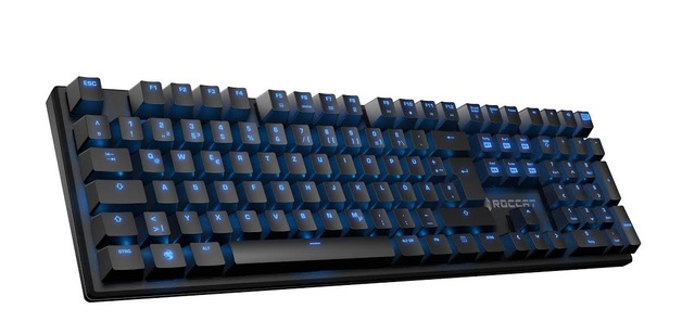 ROCCAT Suora – Frameless Mechanical Gaming Keyboard for PC