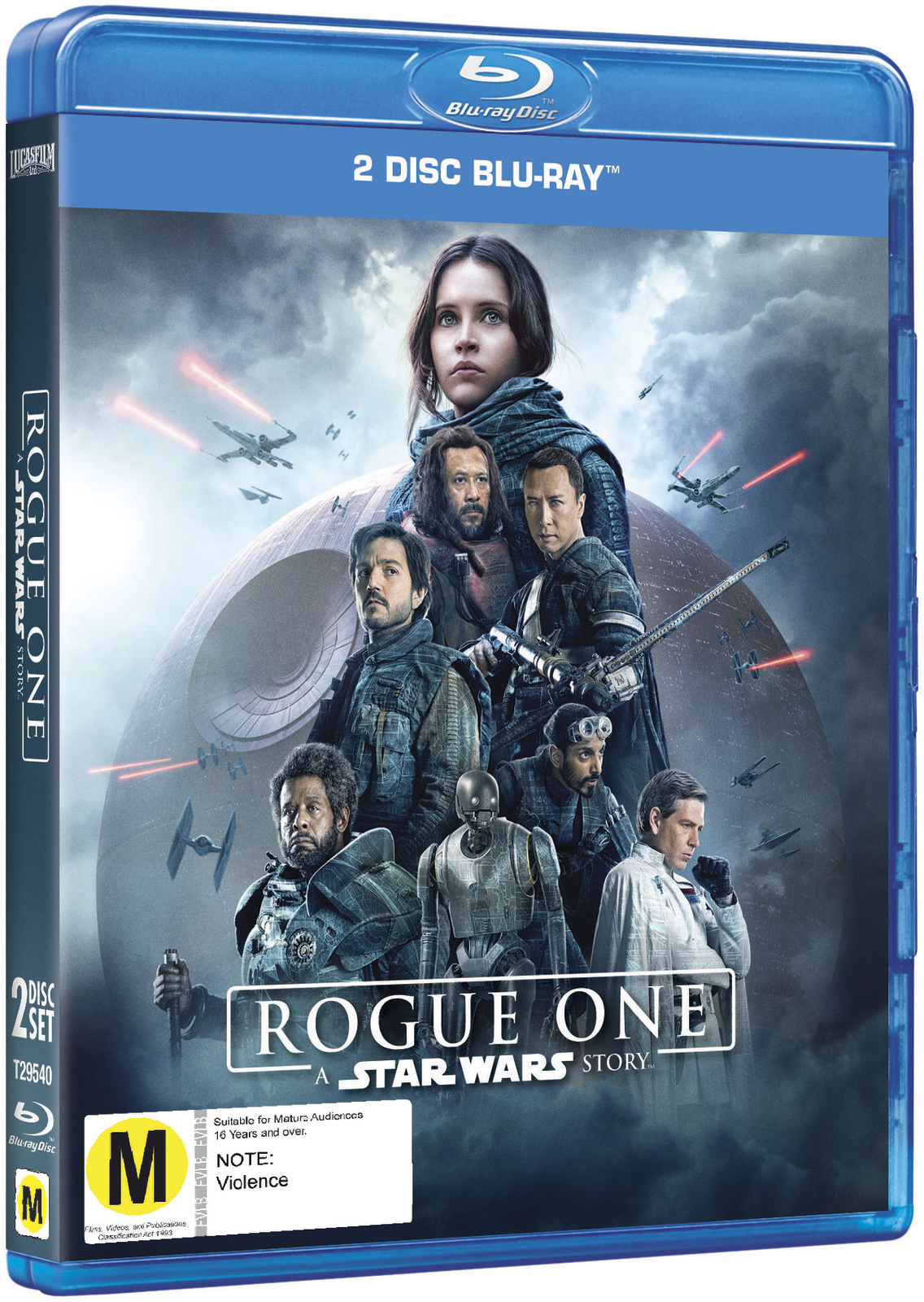 Rogue One: A Star Wars Story on Blu-ray image