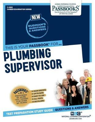 Plumbing Supervisor by National Learning Corporation