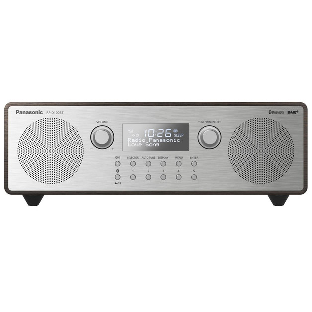 Panasonic RF-D100 FM, RDS radio, DAB, DAB+ Clock radio with alarm