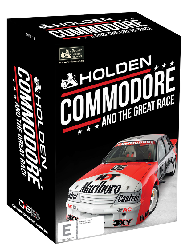Commodore and The Great Race on DVD
