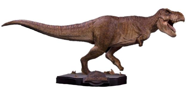 "Jurassic World: Tyrannosaurus Rex (Final Battle) - 25"" Premium Statue"