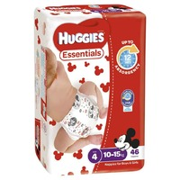 Huggies Essentials Nappies Bulk Value Box -Size 4 Toddler (184) image