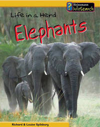 Life in a Herd of Elephants by Richard Spilsbury image