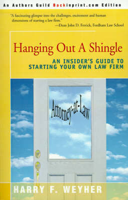 Hanging Out a Shingle by Harry F. Weyher image