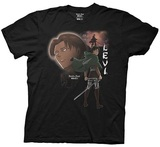 Attack on Titan Levi T-Shirt (Small)