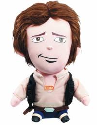 Star Wars: Han Solo Medium Talking Plush