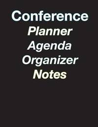 Large Color Coded 5-Day Conference Planner/Organizer/Agenda/Note-Taking - 8.5 X 11 - 44 Pages by April Chloe Terrazas