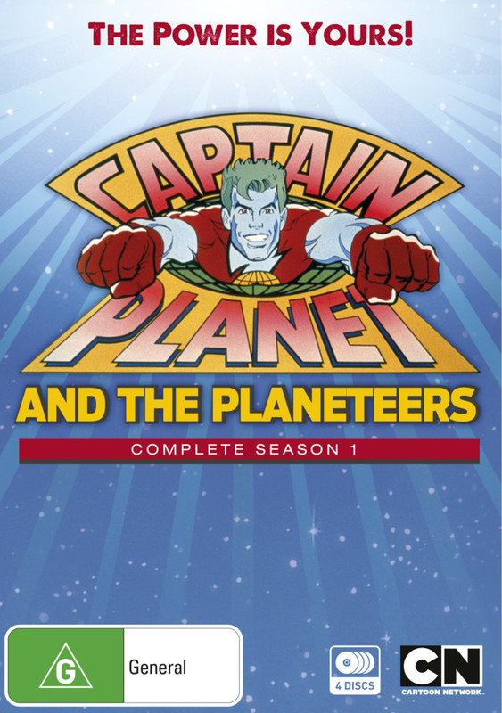 Captain Planet - The Complete Season 1 on DVD