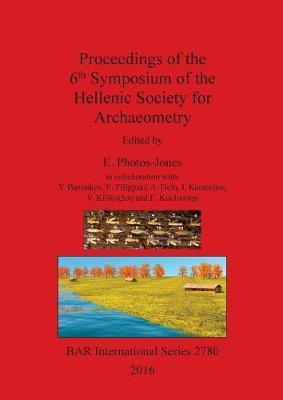 Proceedings of the 6th Symposium of the Hellenic Society of Archaeometry image