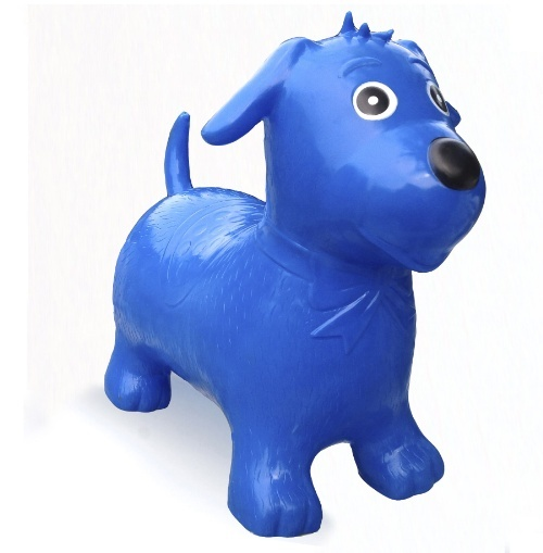 Happy Hopperz - Blue Dog (Small)
