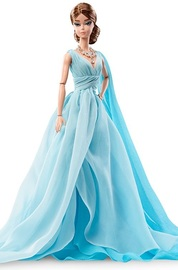 Barbie: Blue Chiffon Ball Gown - Collectors Doll