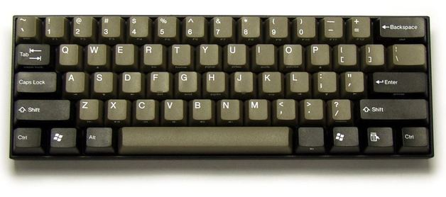 KBParadise V60 MX Brown 60% Mechanical Keyboard Dolch