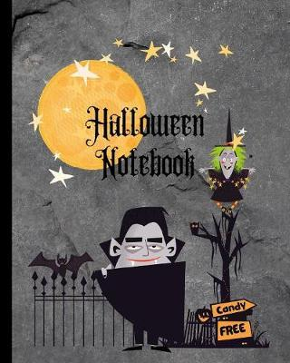 Halloween Notebook Free Candy by Kiddo Teacher Prints