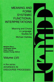 Meaning and Form by Margaret Berry