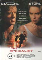 The Specialist on DVD