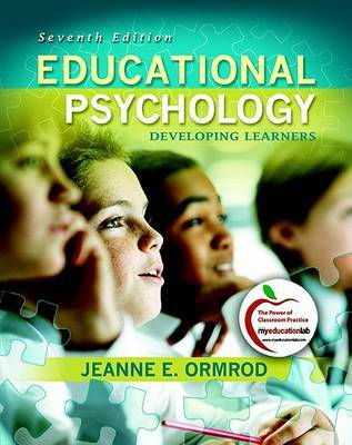 Educational Psychology: Developing Learners by Jeanne Ellis Ormrod image