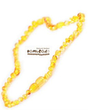 Bambeado Amber Necklace Children Bud - Honey