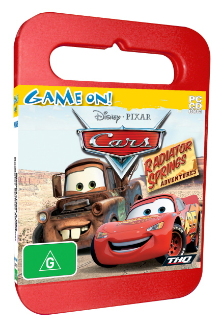 Cars Activity Centre - Toy Case for PC Games