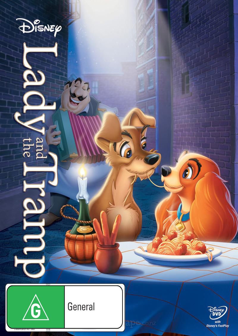 Lady and the Tramp DVD image
