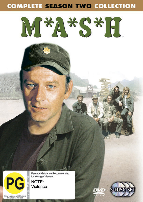 MASH - Complete Season 2 Collection (3 Disc Set) (New Packaging) on DVD