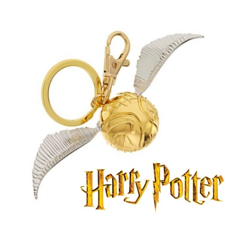 Harry Potter: Golden Snitch - Pewter Key Chain