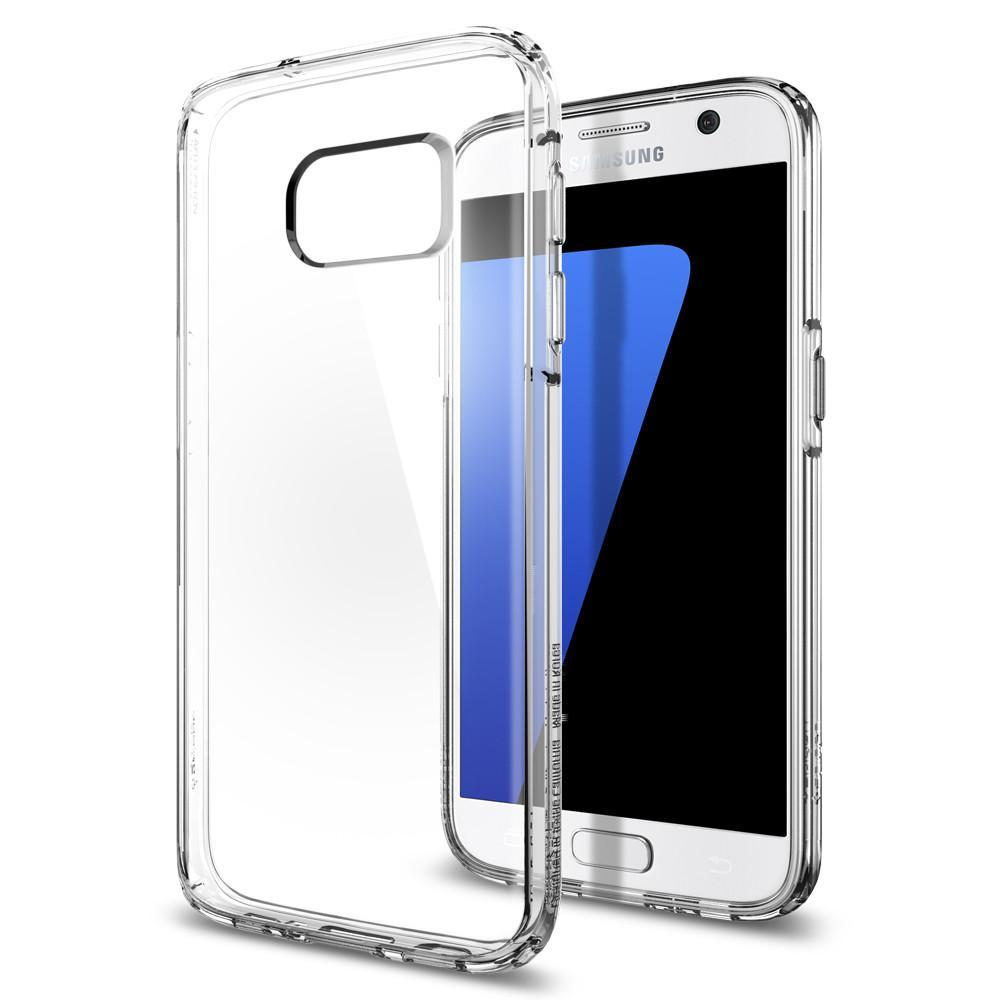 Spigen: Galaxy S7 - Ultra Hybrid Case (Crystal Clear) image