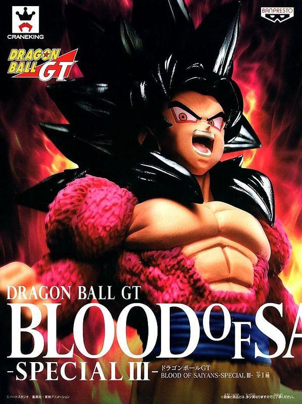 Dragon Ball GT Blood of Saiyans Special III SS 4 Goku