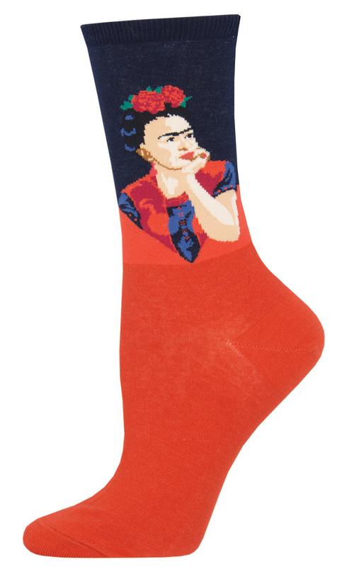 Socksmith: Womens Pensive Frida - Red