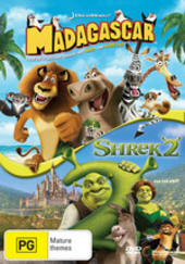 Madagascar and Shrek 2 (2 Disc Set) on DVD