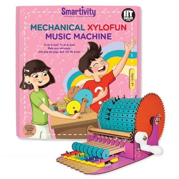 Smartivity: Mechanical Xylofun Music Fun