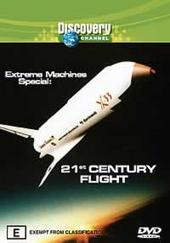 Extreme Machines Special - 21st Century Flight on DVD