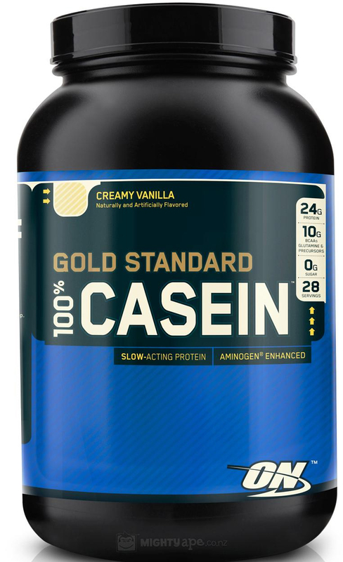 Optimum Nutrition Gold Standard 100% Casein - Vanilla Ice Cream (1.81kg)