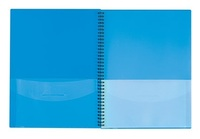 FM Wiro 8 Pocket Folder - Blue