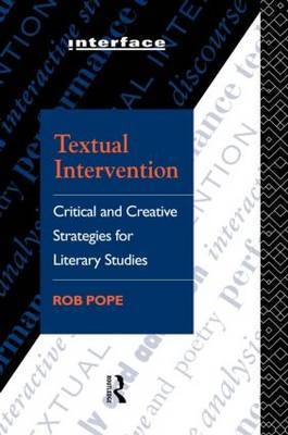 Textual Intervention by Rob Pope image