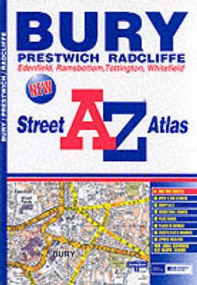A-Z Bury Street Atlas by Geographers A-Z Map Company image