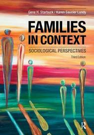 Families in Context by Gene H Starbuck