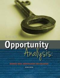 Opportunity Analysis by Mary Beth Izard