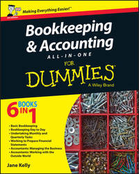 Bookkeeping and Accounting All-in-One For Dummies - UK by Jane E. Kelly