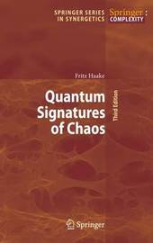 Quantum Signatures of Chaos by Fritz Haake image